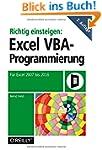 Richtig einsteigen: Excel-VBA-Program...
