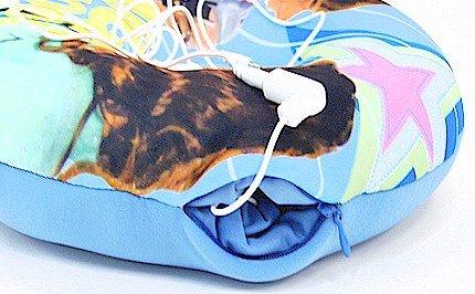 High School Musical Blue Speaker Pillow