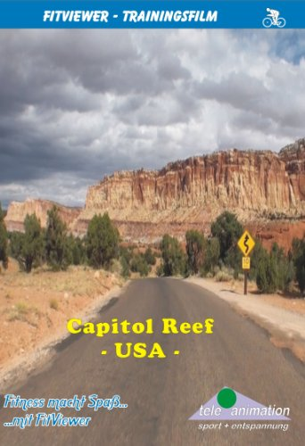 Capitol Reef - FitViewer Indoor Video Cycling USA