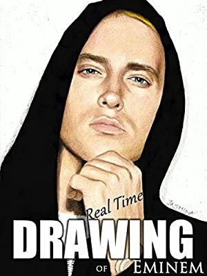 Real time drawing of Eminem