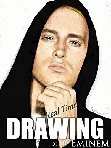 Real time drawing of Eminem on Amazon Prime Video UK