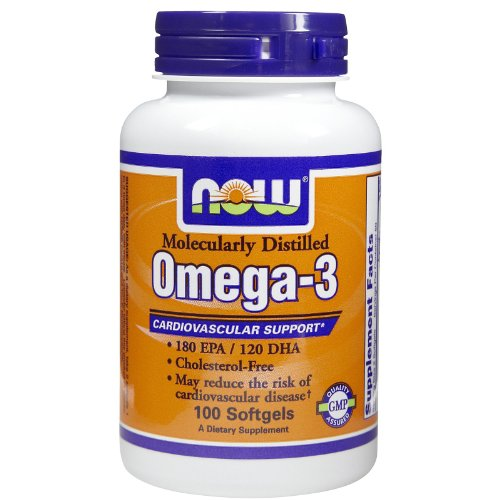 Now Foods Omega-3 1000 Mg (100 Softgels) ( Multi-Pack)
