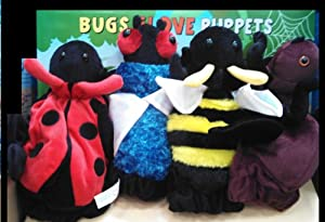 Bugs Glove Puppets (Set of 4) by Dream International