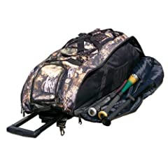 Real Tree Camouflage Cobra XL Softball Baseball Catchers Bat Equipment Roller Bag by MAXOPS