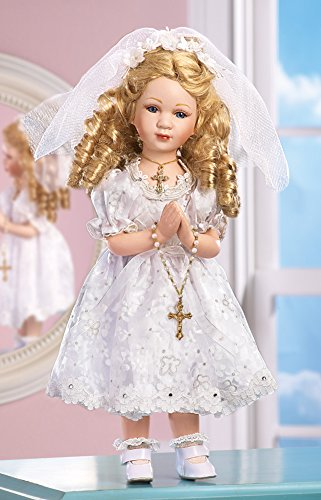 Collections Etc Collectible Religious First Communion Maria Doll