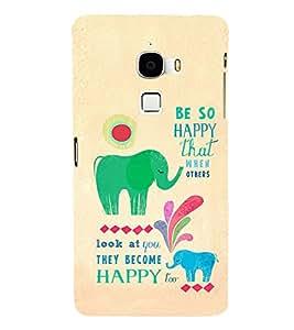 ifasho Designer Phone Back Case Cover LeTv Le Max :: LeEco Le Max ( Gaay Cow Ma )