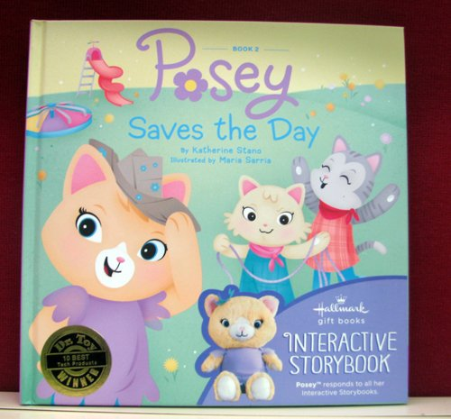 Hallmark Interactive Book KOB1036 Posey Saves The Day Book #2 - 1
