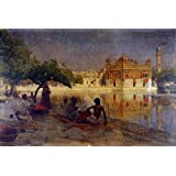 The Museum Outlet - Edwin Lord Weeks - The Golden Temple Amritsar 1890 - Poster Print Online (A3 Poster)
