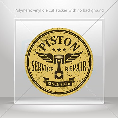 Stickers Decal Vintage Auto Repair Sign Tablet