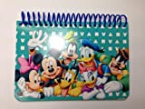 Disney Mickey Mouse and Friends Family Spiral Autograph Book