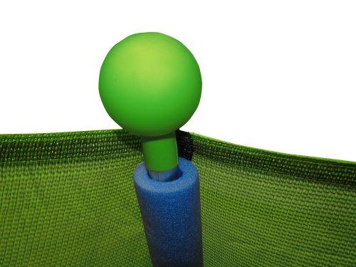 Upper Bounce Indoor/Outdoor Classic Trampoline and Enclosure Set (7-Feet)