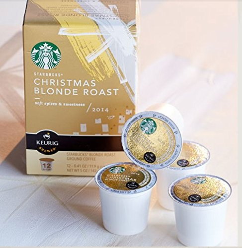 Starbucks® 2014 Christmas Blonde Roast K-Cup® 12 Count (Pack Of 2)
