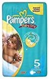 PAMPERS BABY DRY NAPPIES 5 JUNIOR [16 NAPPIES] - 16S