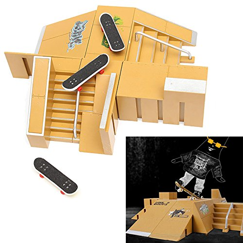 Tech Deck Fingerboard Skate Park Ramp Parts Finger Board Ultimate Parks 92B (Aroma Ramp compare prices)