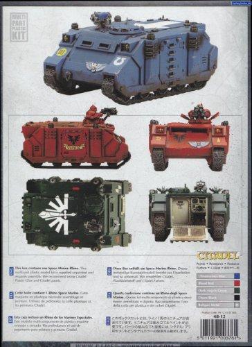 Warhammer 40,000 Space Marine Rhino Model Kit - saitik's blog
