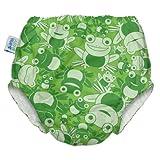 My Swim Baby Diaper New Sizing, Leaping Leo, Medium