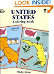 United States Coloring Book (Dover Hi...
