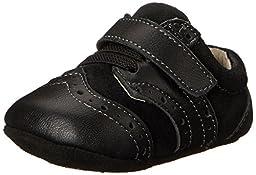See Kai Run Abe Crib Shoe (Infant), Black, 0-6 Months M US Infant