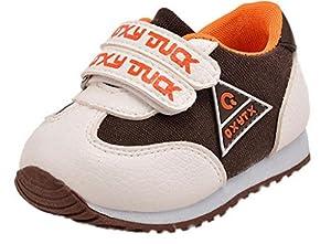 La vogue Zapatos De Primeros Pasos Para Bebé Niños Con Verclo Deportiva de La vogue
