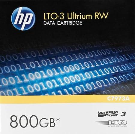 HP LTO Ultrium 3 400 Go / 800 Go or support de stockage