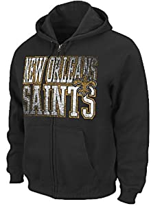 New Orleans Saints Touchback V Mens Full-Zip Hoody Sweatshirt by VF by VF
