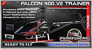 Falcon 400 V2 RC Helicopter Trainer RTF RC Heli 2900