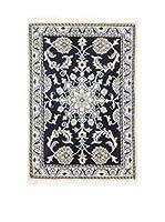 L'Eden del Tappeto Alfombra Nain K Hielo / Azul 58 x 88 cm