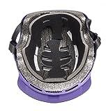 Bell Multi-Sport Helmet Removable Visor, Purple