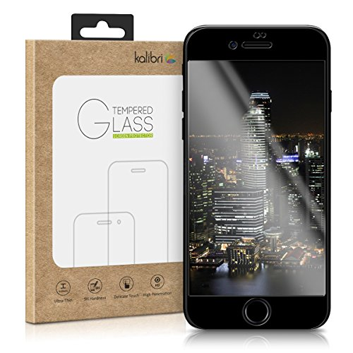 kalibri-Echtglas-Displayschutz-fr-Apple-iPhone-7-Plus-3D-Schutzglas-Full-Cover-Screen-Protector-mit-Rahmen-in-Schwarz