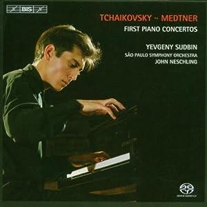 Tchaikovsky: Piano Concerto 1; Medtner: Piano Concerto 1, Liebliches Kind!