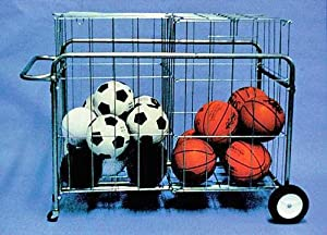 Double Basket Portable Ball Carrier by TC Sports