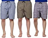 #6: SSB Pure Cotton Multicolor Casual Solid Boxers For Men's Pack of 3