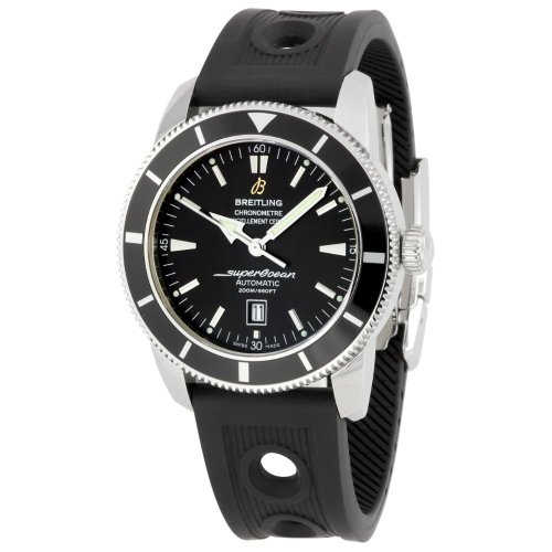 Breitling Men'S A1732024/B868 Superocean Heritage Black Dial Watch