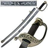 U.S Civil War 1850 Army Staff Field Officers Sword