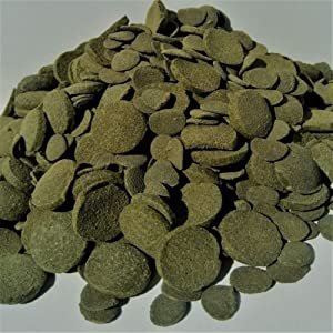 Aquatic Foods Inc. Wafers Mixed Size Wafers of Spirulina, Algae, Wafers for Plecos, Catfish & More 50-lbs (Tamaño: 50-lbs)