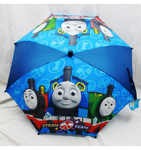 "Thomas & Friends Kid Umbrella 3D Thomas the Tank Engine Figurine ""Steam Team"""