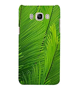 LEAF PATTERN Designer Back Case Cover for Samsung Galaxy J7(2016)::Samsung Galaxy J7 NEW