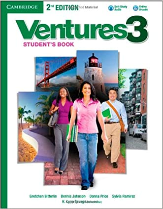 Ventures Level 3 Student's Book with Audio CD written by Gretchen Bitterlin