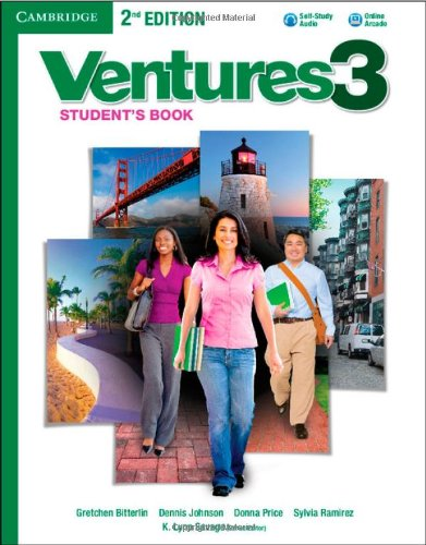 Ventures Level 3 Student's Book with Audio CD Second Edition