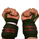Today I do what others wont, so tomorrow I can do what others can't Spartan Motivational Wrist Wraps