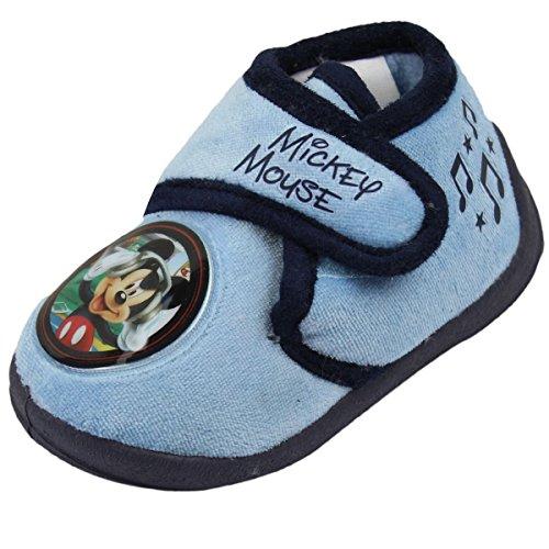 Mickey Mouse ,  Pantofole ragazzo, Blu (blu), 23-24