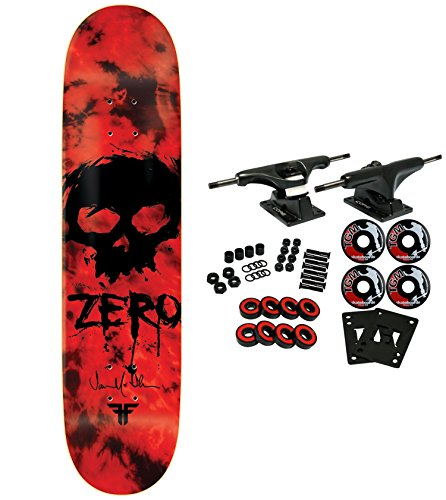 ZERO Skateboard Complete THOMAS FALLEN BLOOD SKULL 8.375