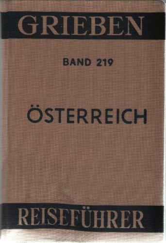 Grieben-Reiseführer Band 219: Österreich. mit