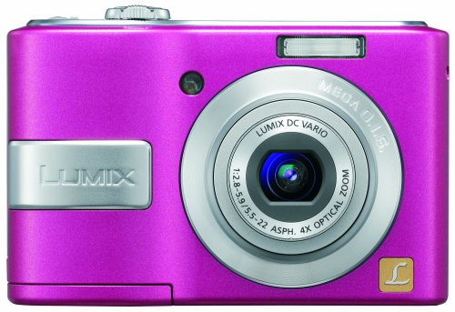 Panasonic Lumix DMC-LS85 is one of the Best Pink Compact Point and Shoot Digital Cameras Overall Under $200