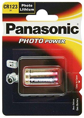 Fotobatterie panasonic cR123A