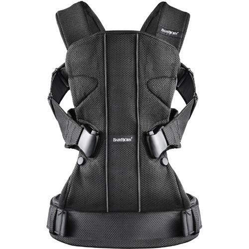 BABYBJÖRN Baby Carrier One - Black, Mesh