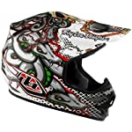 Troy Lee Designs Medusa Air Off-Road/Dirt Bike Motorcycle Helmet - White / X-Large