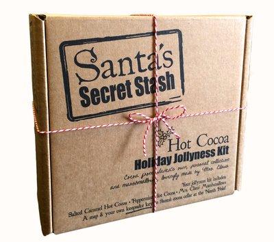 Santa's Secret Stash Hot Cocoa Gift Set, Salted