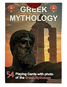 Greek Mythology Playing Cards With Photos Of