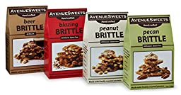 AvenueSweets Gourmet Brittle - four delicious varieties.